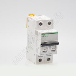 A9N21020 - Disj. C40a 1P+N 2A C 4,5kA / 6kA