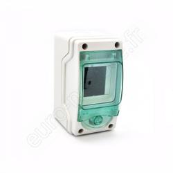 13956 - Coffret Mini Kaedra IP65 (1x 3mod.)