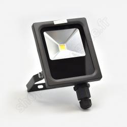 CIN42038 - PROJECTEUR LED EXTRA PLAT 30W 4000K NOIR