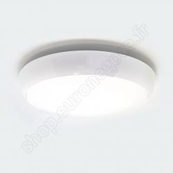 CIN42620 - HUBLOT LED ROND 24W 4000K BLANC 390X95
