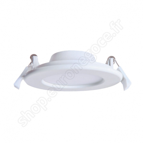Downlights TIBRE  - CIN45010 - DOWNLIGHTS EXTRA PLAT ROND 170X32 12W 4000K