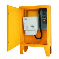 EI34003 - Armoire de comptage Tarif Jaune 400A avec platine et compteur EDF