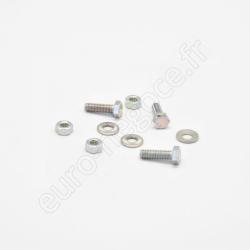 13421 - Fin de série : Opale porte opaque pour coffret saillie 1 rangée