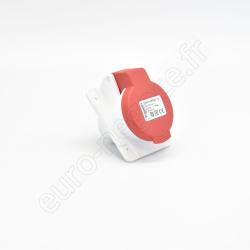 PKY16F435 - Socle prise enc. inclin PK PratiKa conn