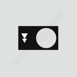 ZB2BY2906 - ETIQUETTE DESCENTE PV-GV