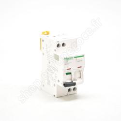 A9DA2610 - Disj. diff. iDD40T 1P+N C 10A 4500A/6kA 30mA type AC