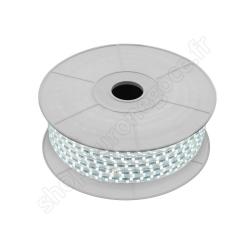 EIRUB6000-50 - RUBAN LED DE CHANTIER IP 67 9W/ML 240 LEDS/M 6000K 1100LM LONG 50 M + ALIM 230 V